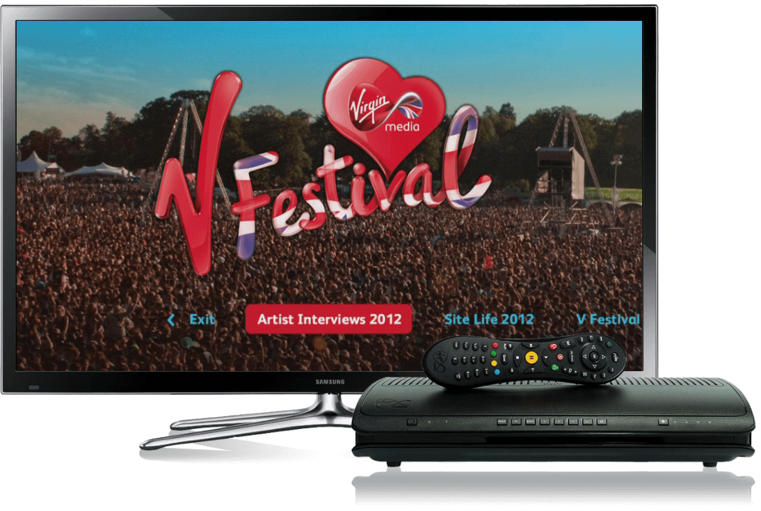 Virgin Media TV and TiVo Devices
