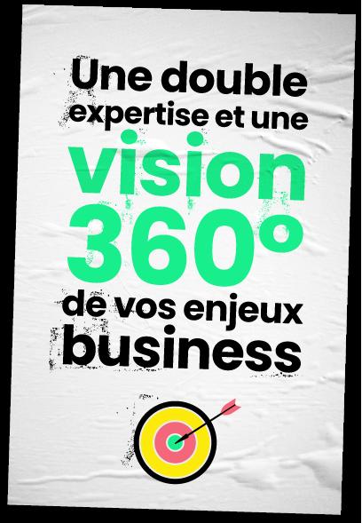Une double expertise et une vision 360° de vos enjeux business