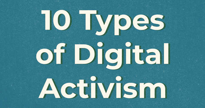 Digital Activism: 10 Ways to Help From Home