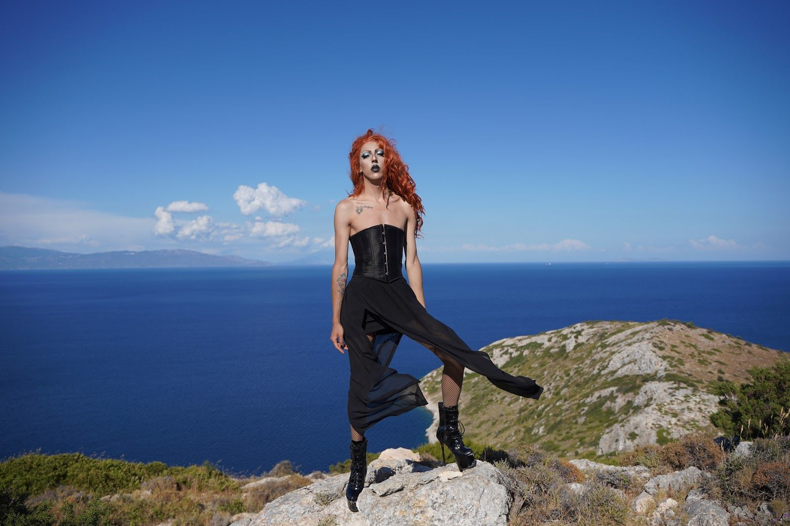 LGBTQIA+ History Month Highlight: Q&A with Sofoklis Vlachou on Being a Drag Performer in Greece