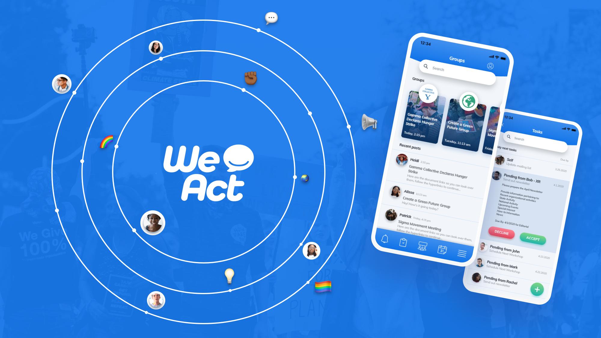 Download the WeAct App Beta