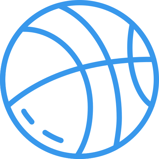 An icon of a basketball.