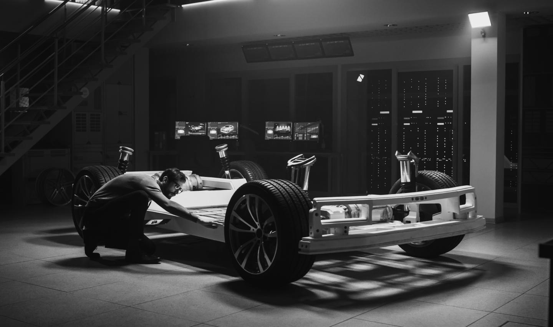 E-vehicle battery development