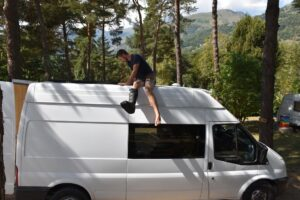 The Finished Van the van conversion guide
