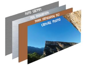Slider panel & image the van conversion guide