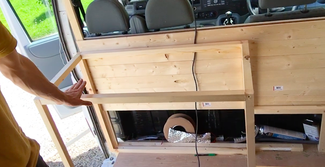 Kitchen unit, Drawers & Extraction Fan the van conversion guide