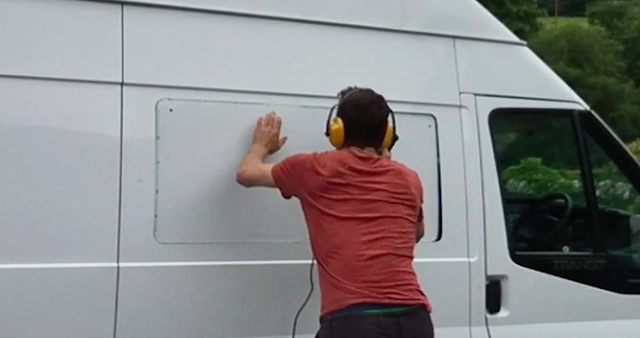 Installing a window the van conversion guide