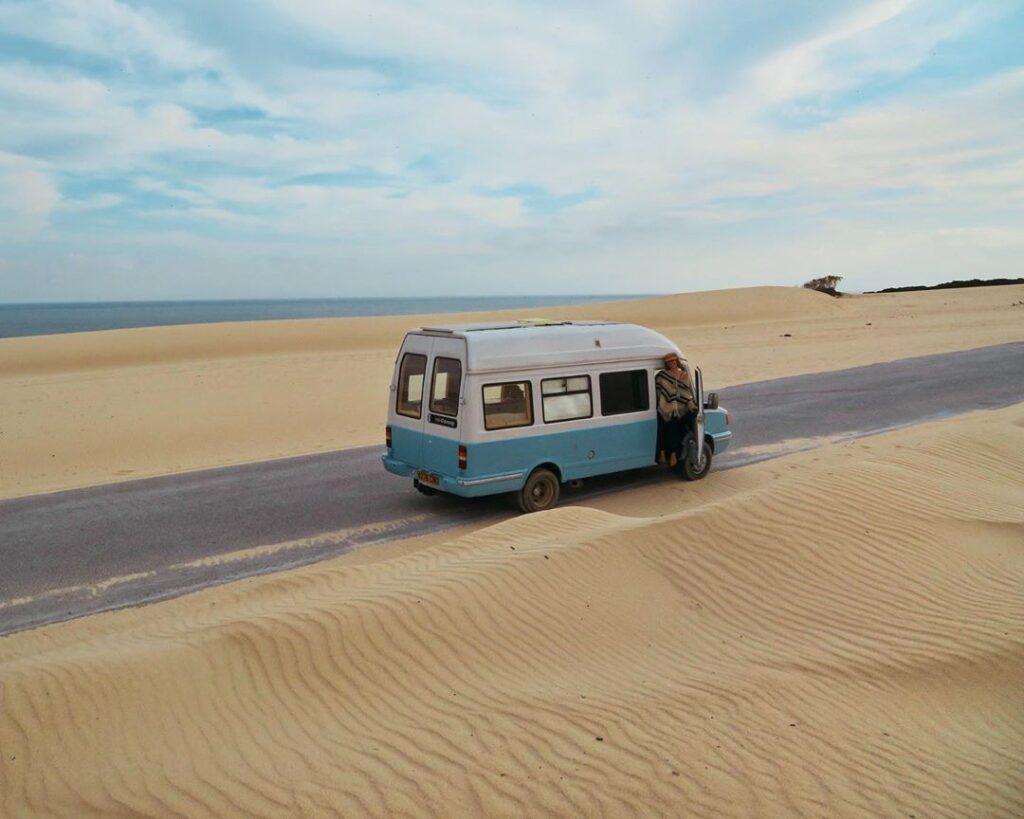 Alba and Luke's Quirky LDV Convoy Van Conversion – Hidden Movie Projector and Clever Solar Array