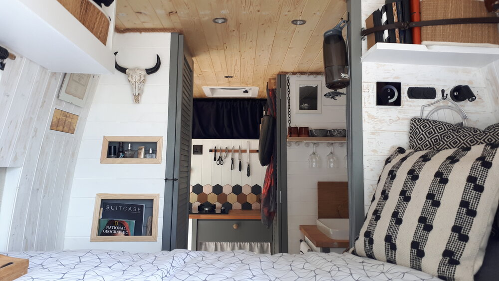 Dietlind's Beautifully Hand-Crafted Citroen Relay Van Conversion , the van conversion guide e-book