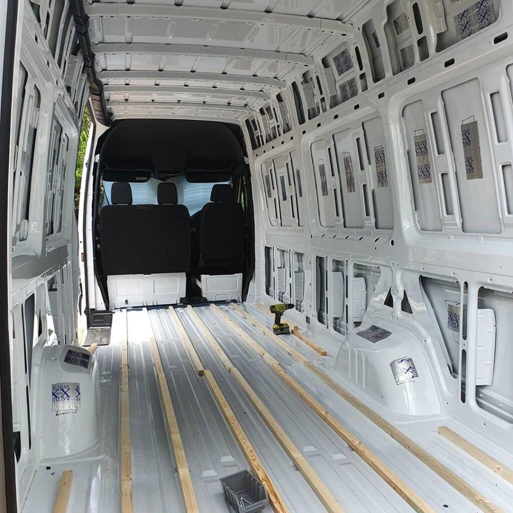 Renee's Cosy yet Practical Mercedes Benz Sprinter Van Conversion the van conversion guide e-book