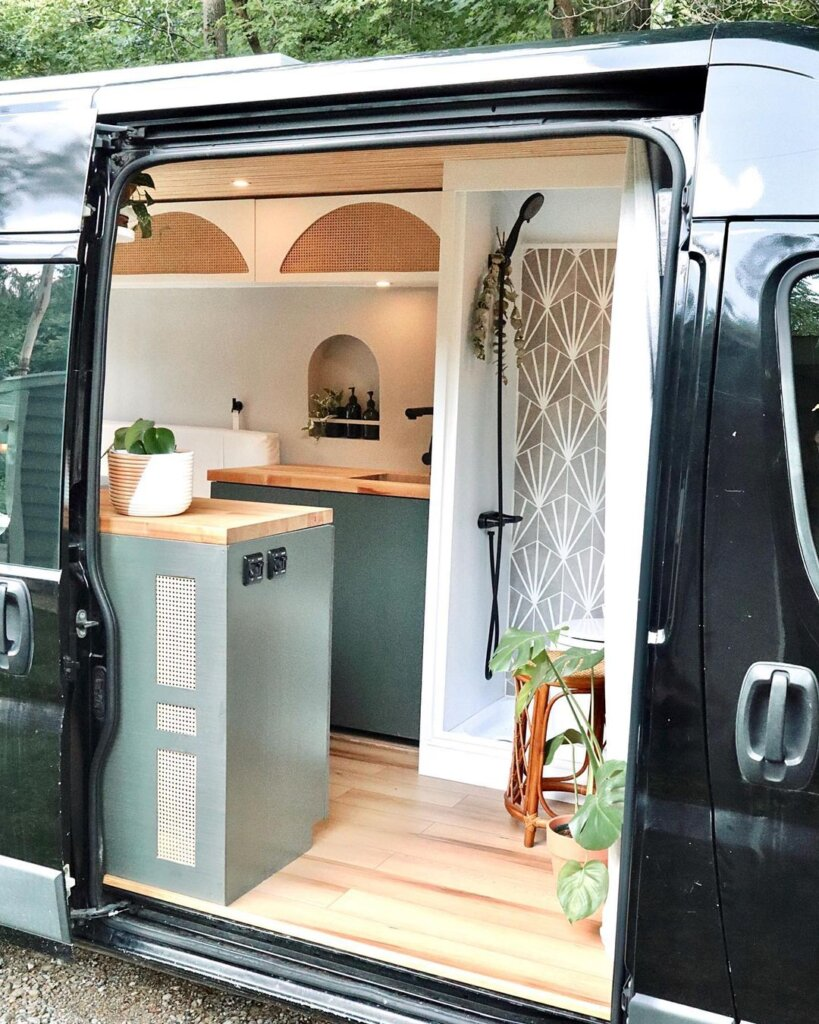 Dianna and James' State of the Art 2015 Ram ProMaster Van Conversion with Ingenious Home Cinema the van conversion guide e-book