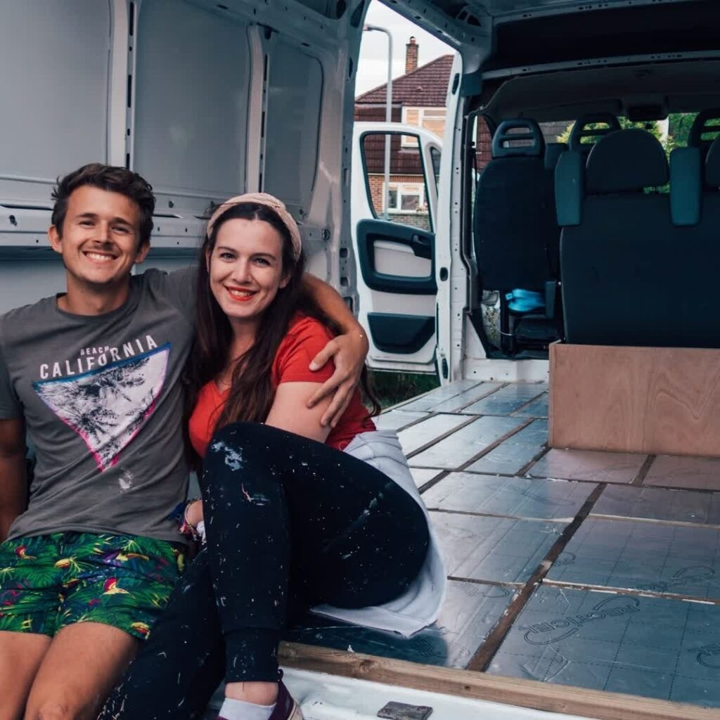 Cazzy and Bradley's All-Encompassing Peugeot Boxer 435 Van Conversion