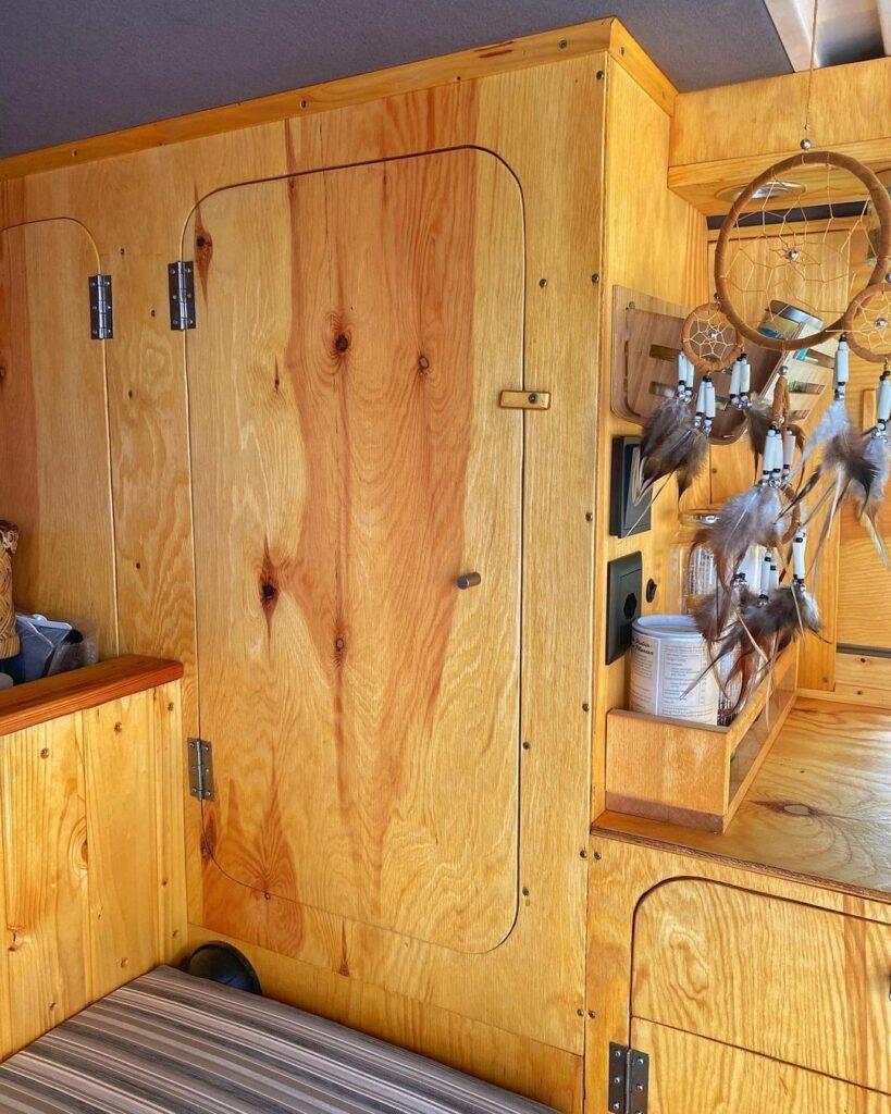volkswagen bulli wardrobe closet