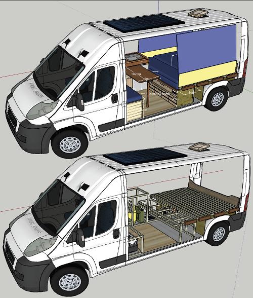 Van CAD Design
