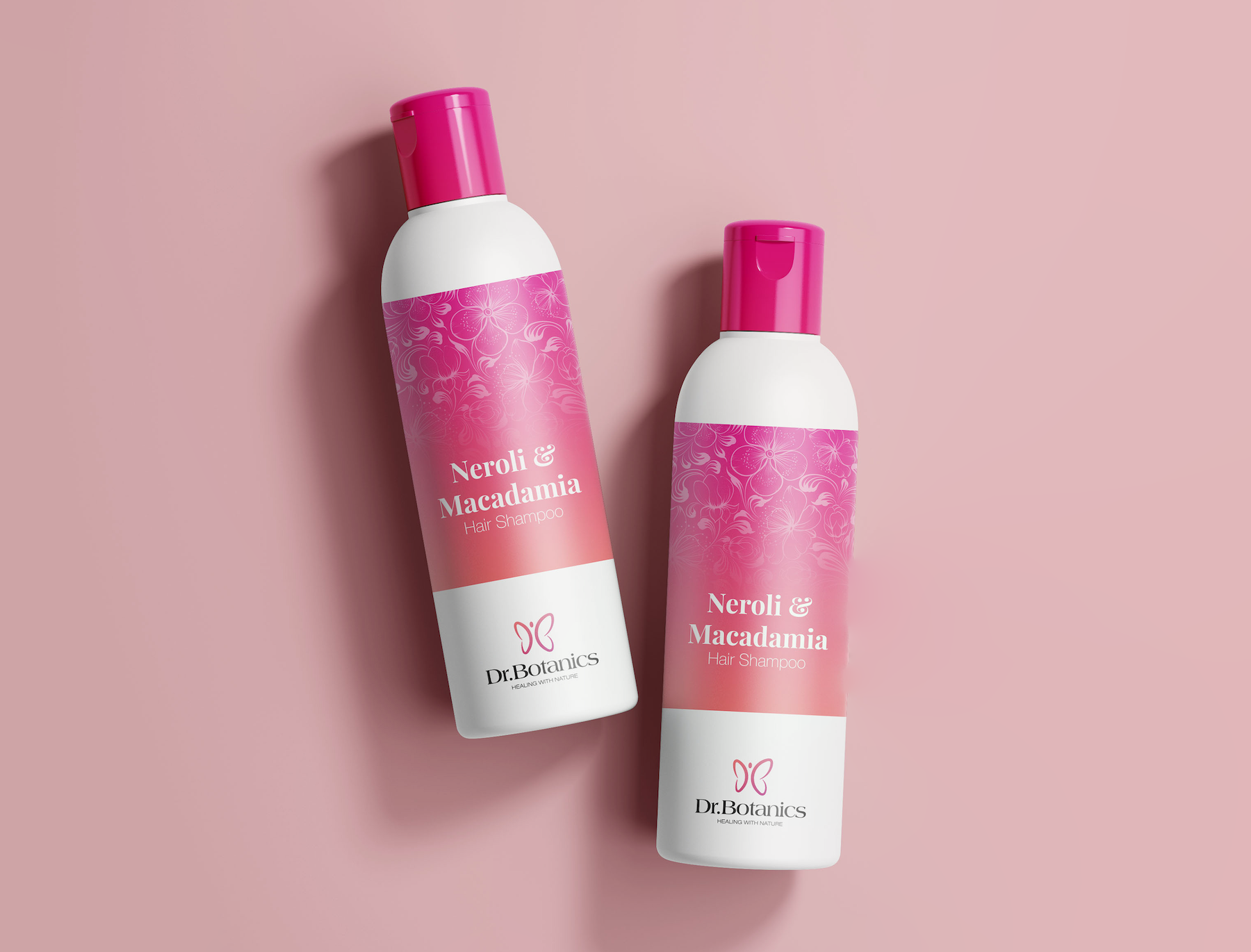 Wrapping Dr.Botanics with Pink and Nature