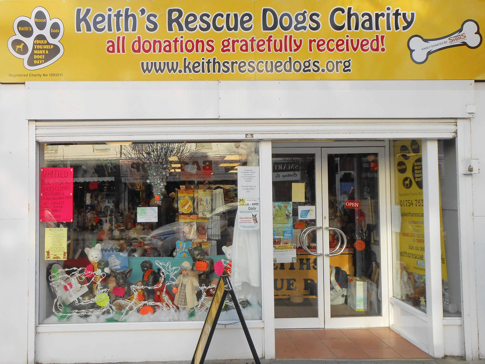 Our Skegness charity shop