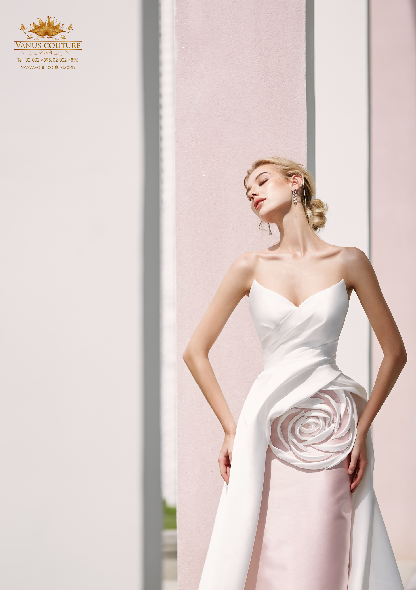 Cherry blossom Wedding Dress 02