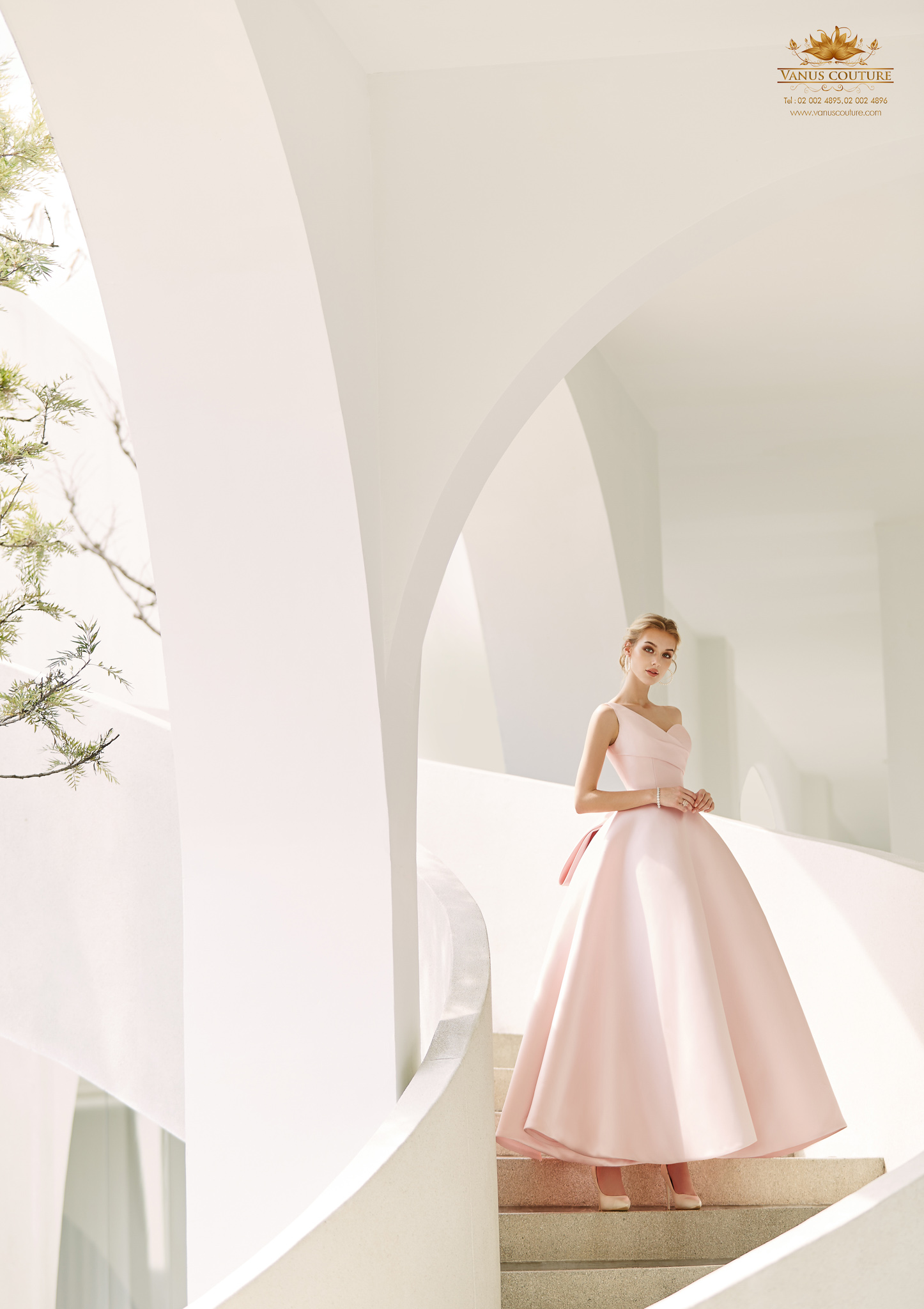 Cherry blossom Wedding Dress 03