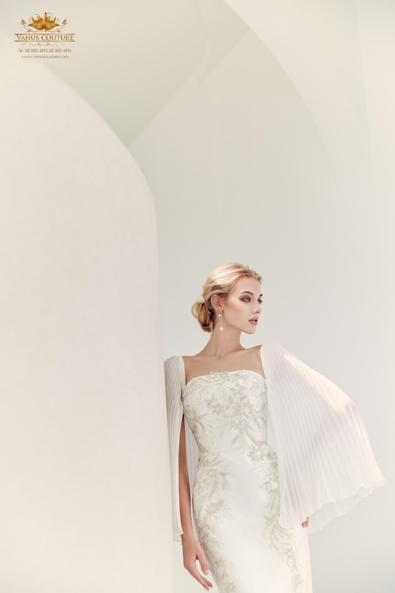 Cherry blossom Wedding Dress 04