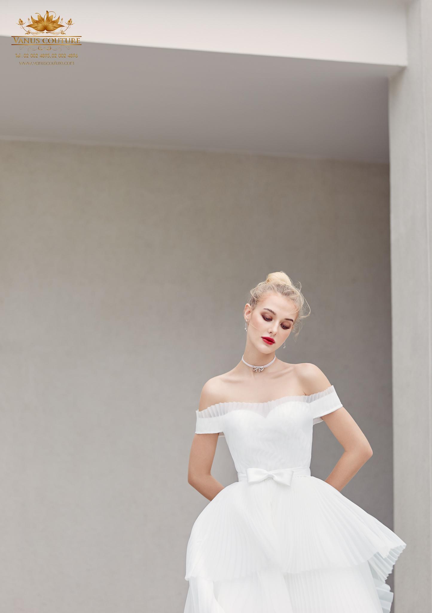 Cherry blossom Wedding Dress 05
