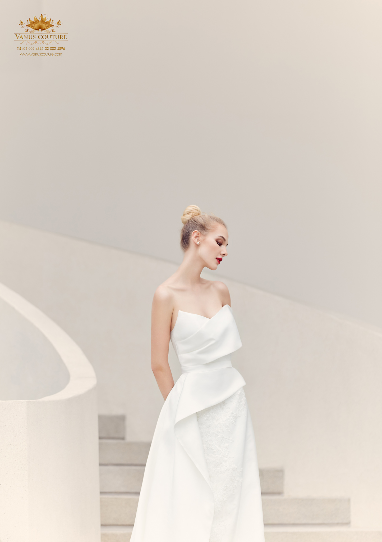 Cherry blossom Wedding Dress 06