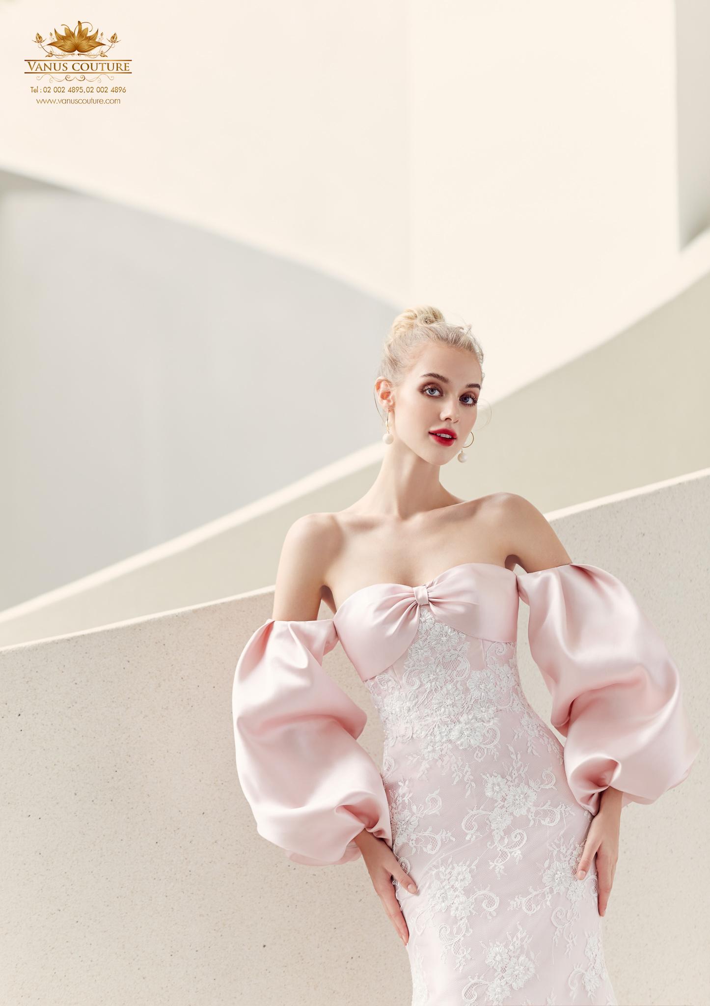 Cherry blossom Wedding Dress 07