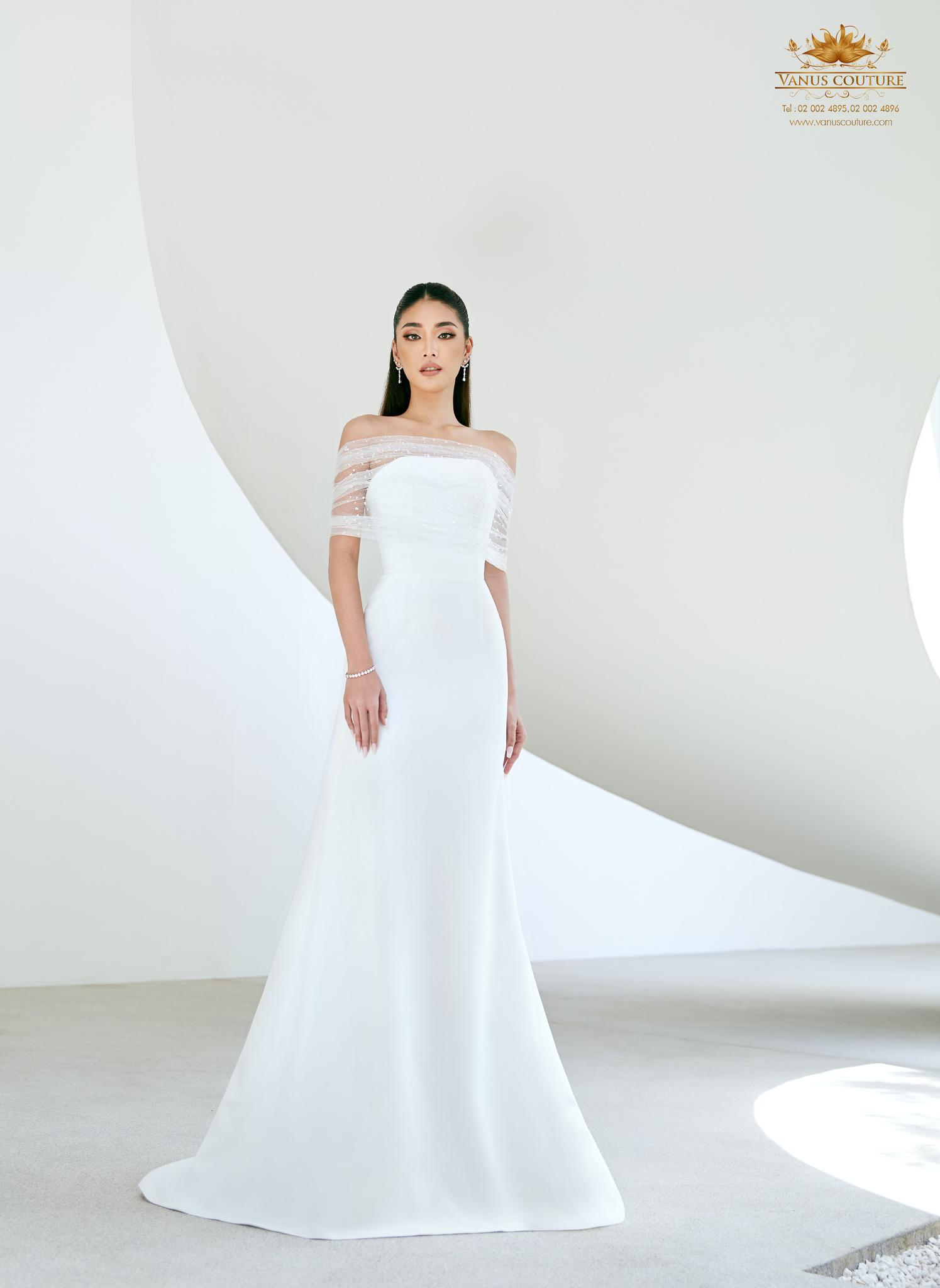 Minimal Wedding Dress - Zorzo 03