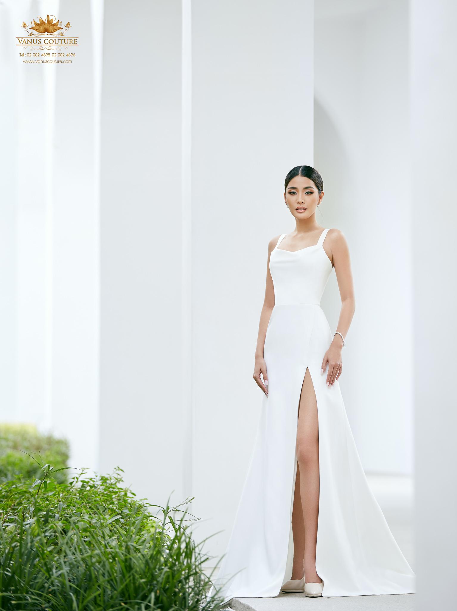 Minimal Wedding Dress - Zorzo 06