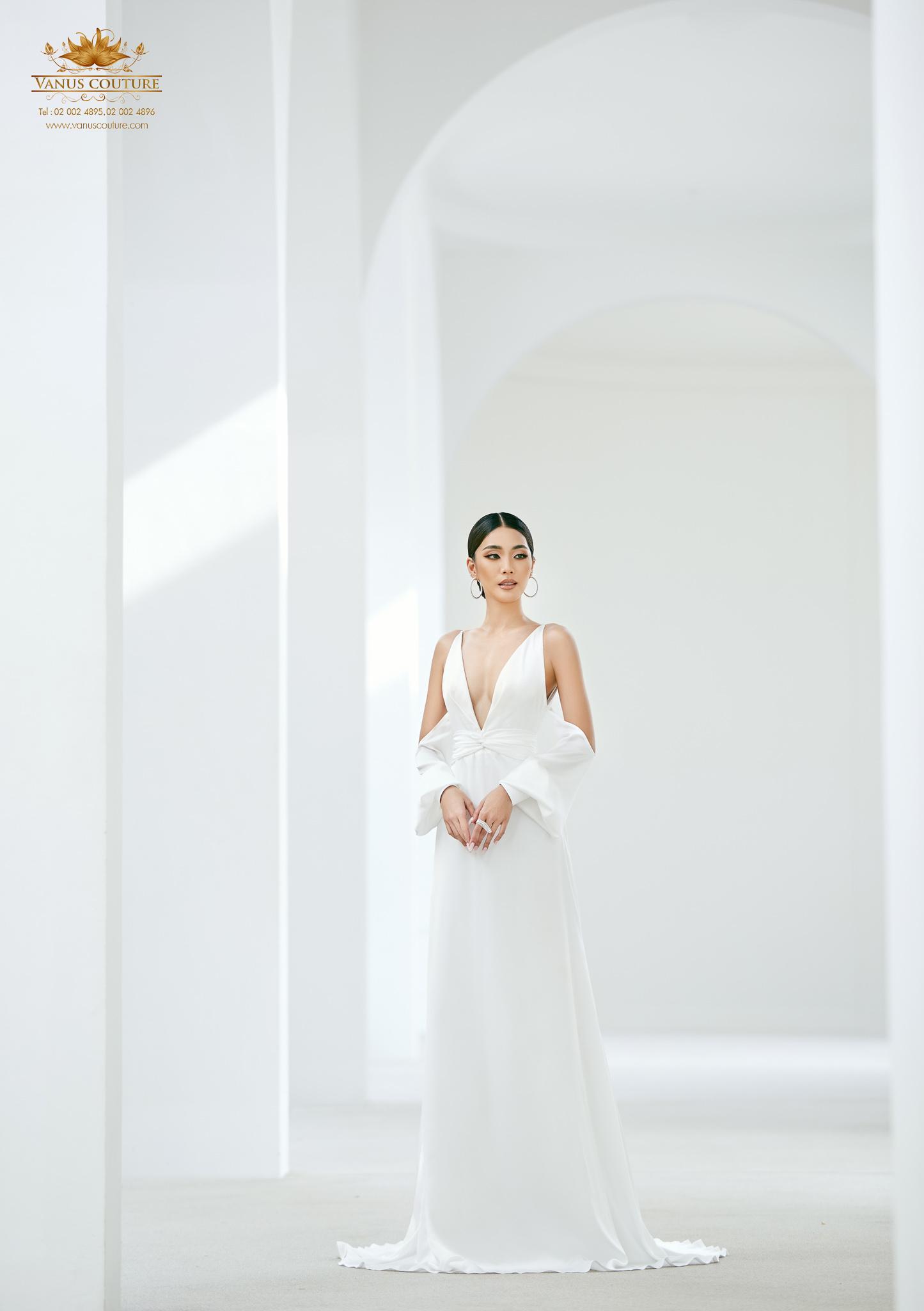 Minimal Wedding Dress - Zorzo 07