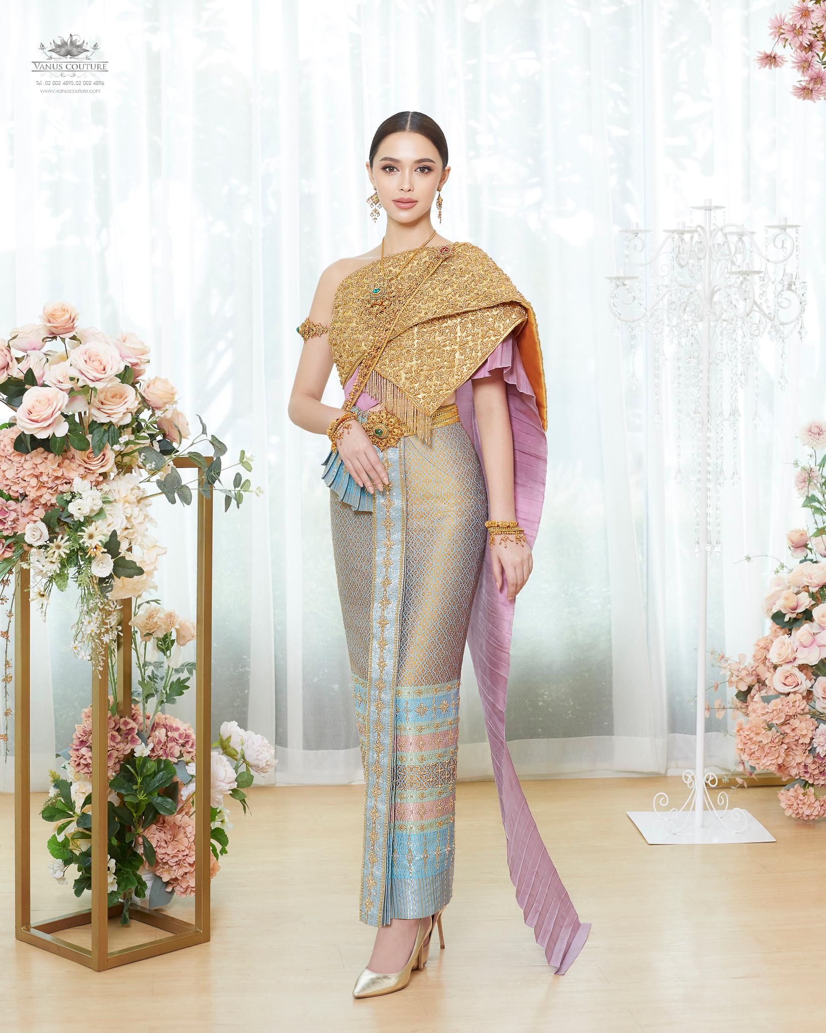 Thai traditional dress - Patricia 02