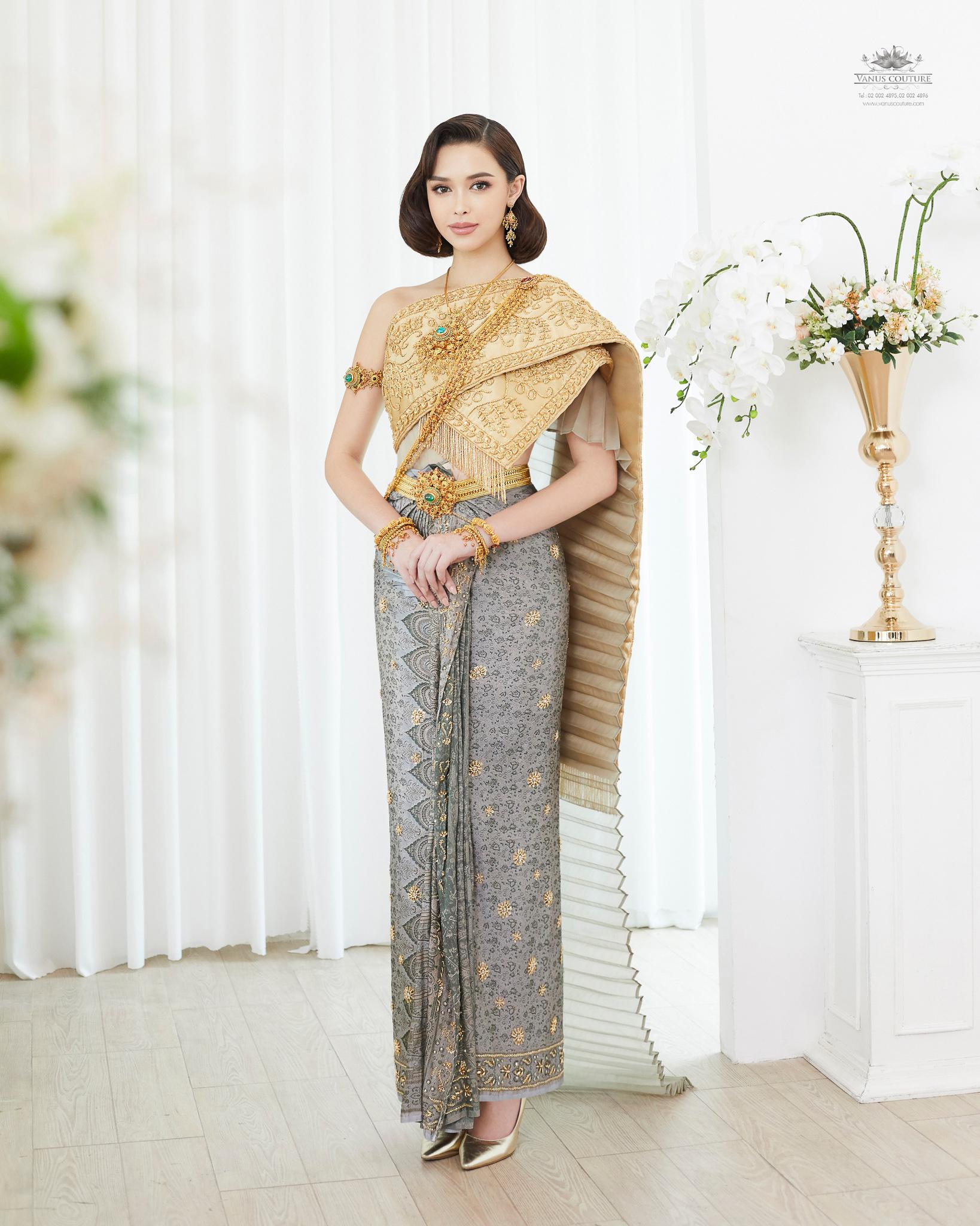 Thai traditional dress - Patricia 01