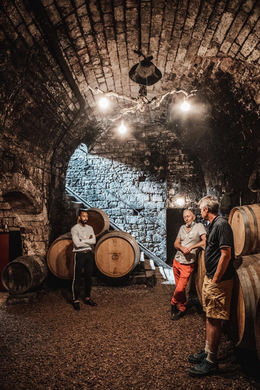 Cellar of Bersan in Saint Bris