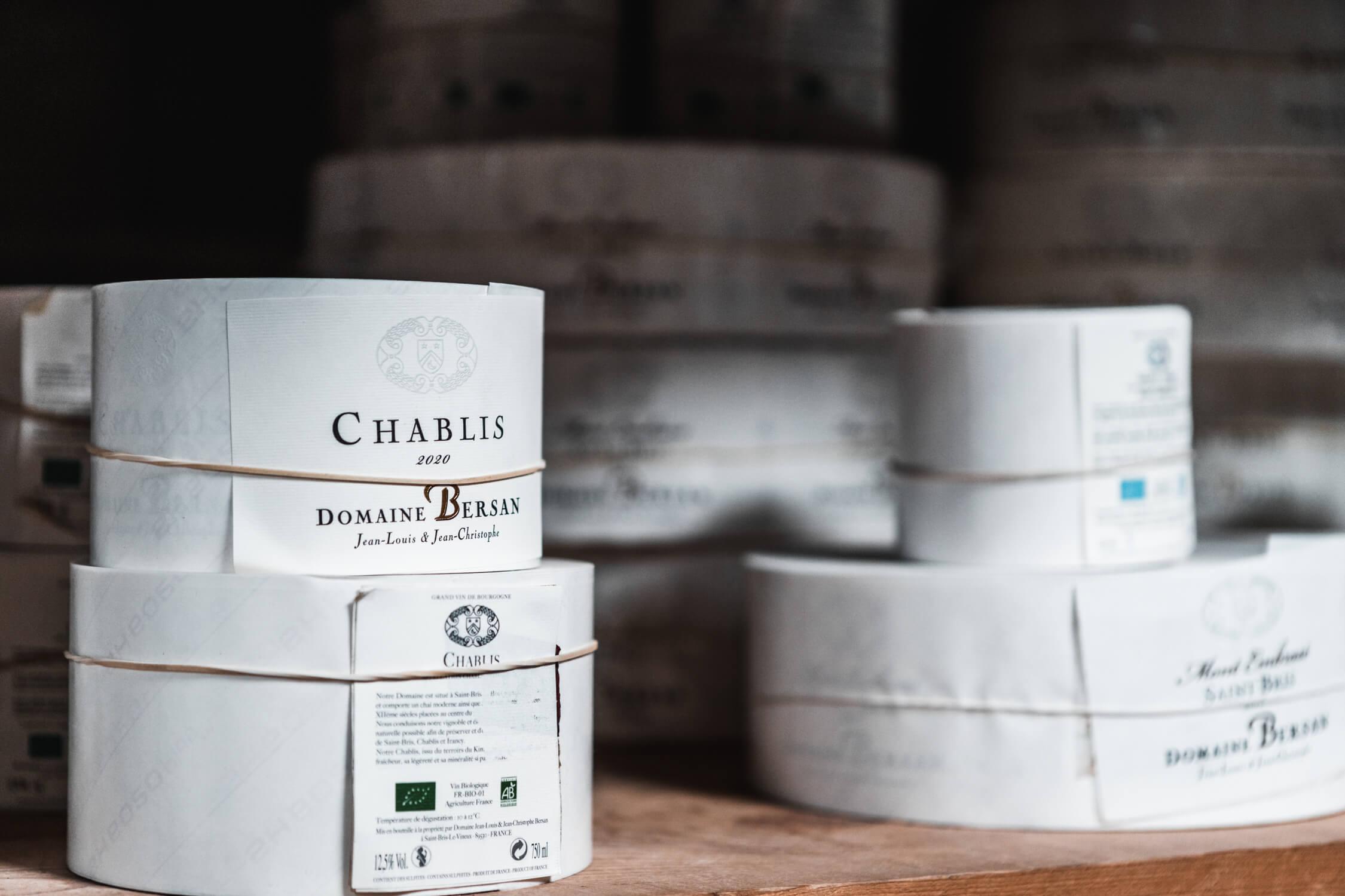 Chablis wine labels