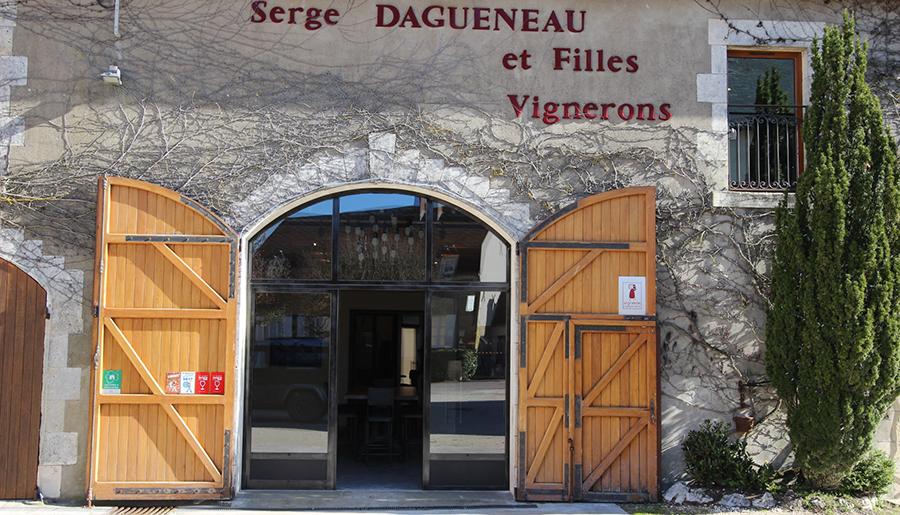 entrance of wine cellar