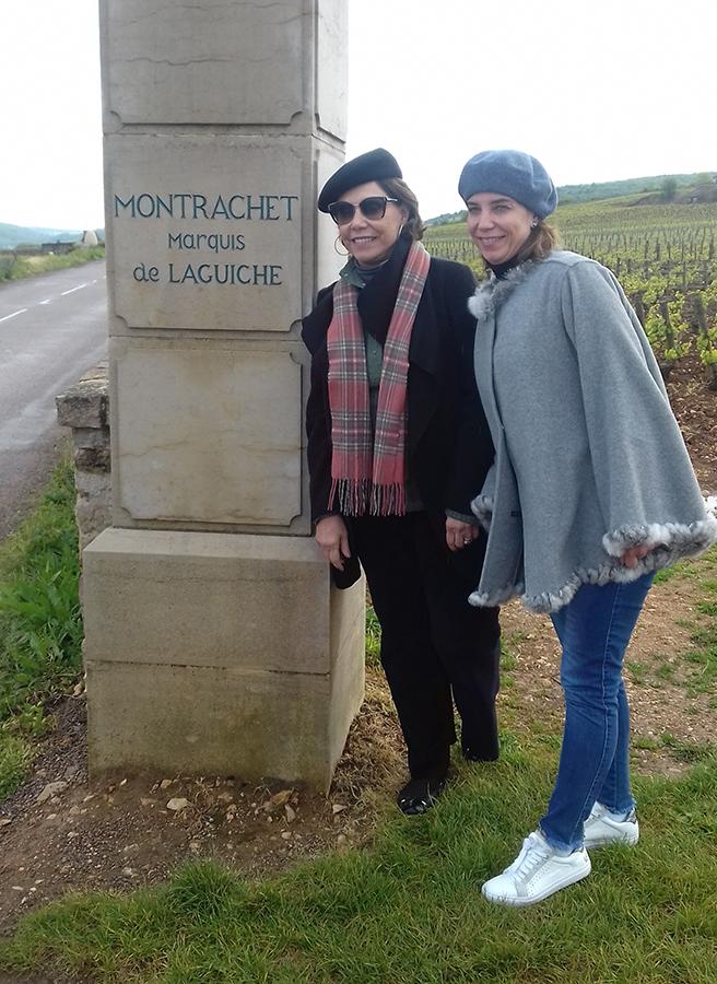 guests in montrachet wine tour