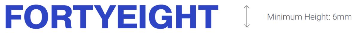 FORTYEIGHT Logo