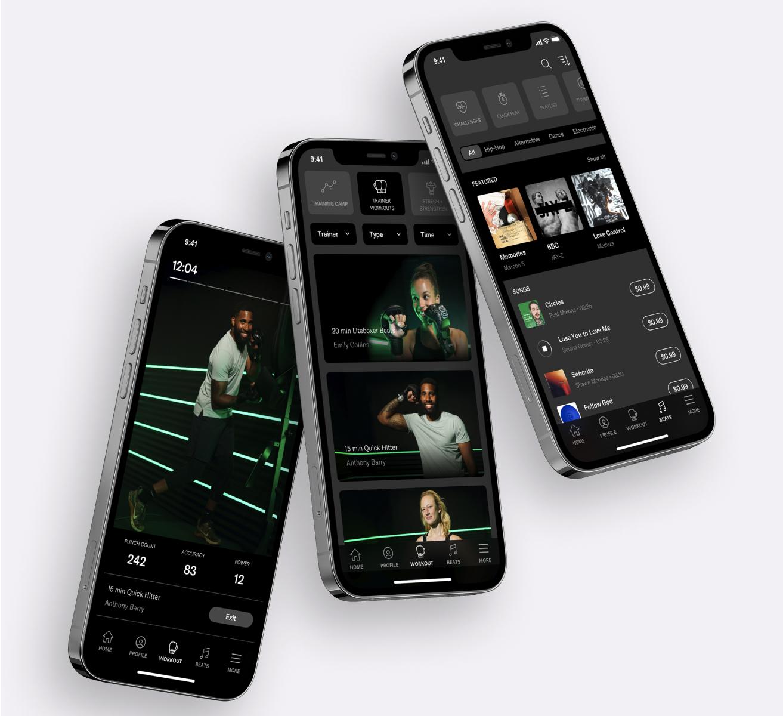 liteboxer mobile app for ios presentation