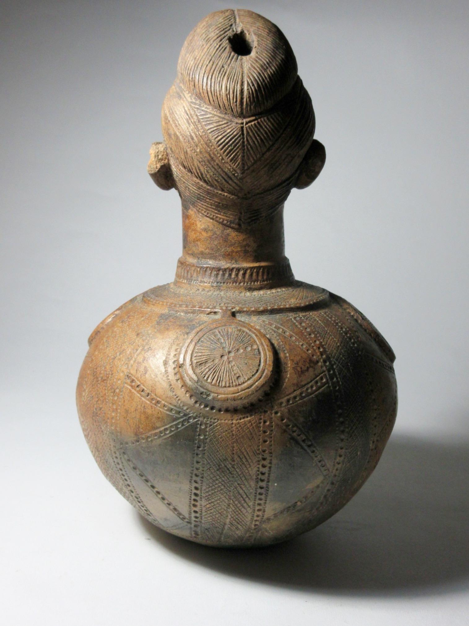 Figural Pot