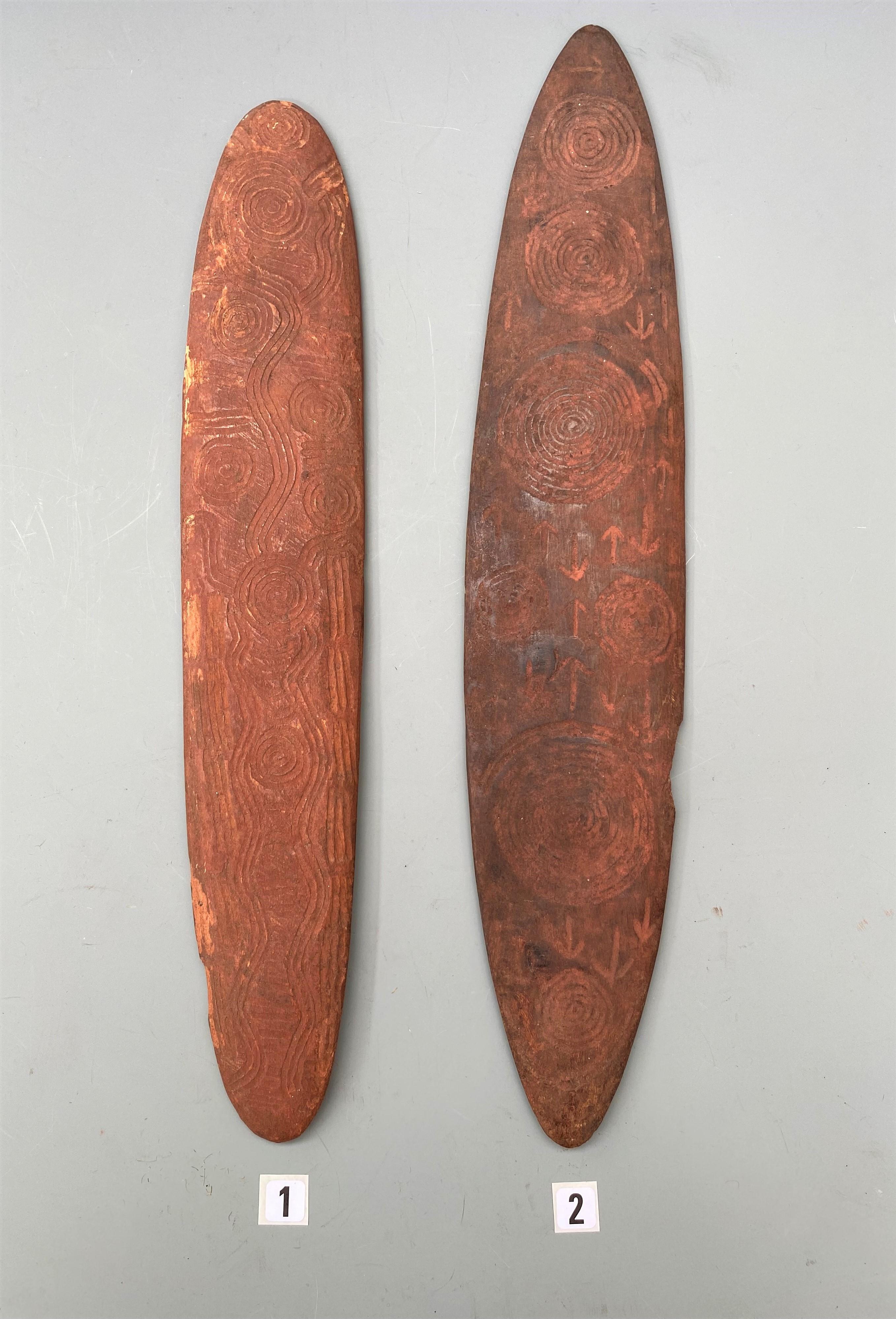 Two Good Aboriginal Churingas Australia