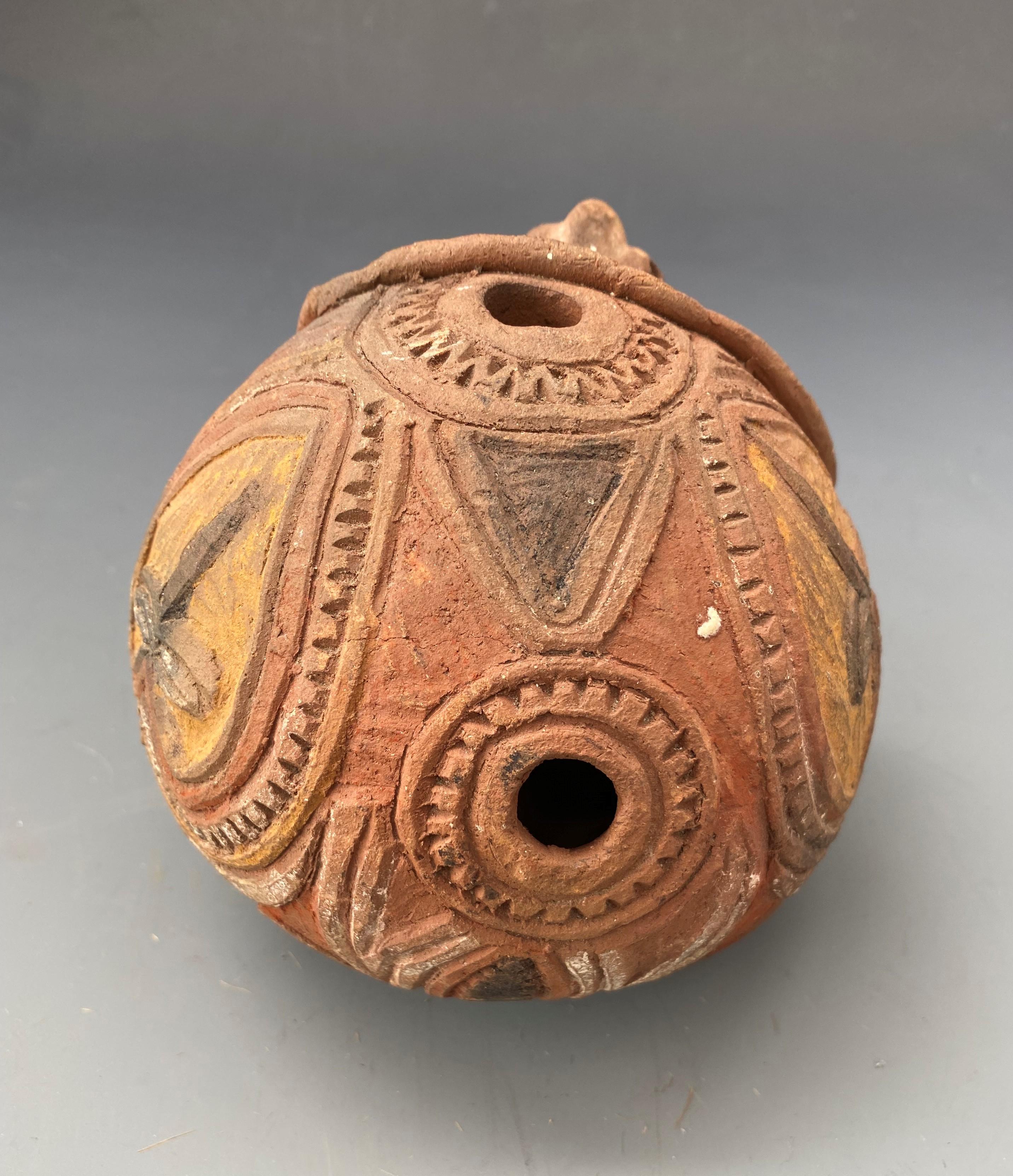 Ritual Pottery Figure Papua New Guinea