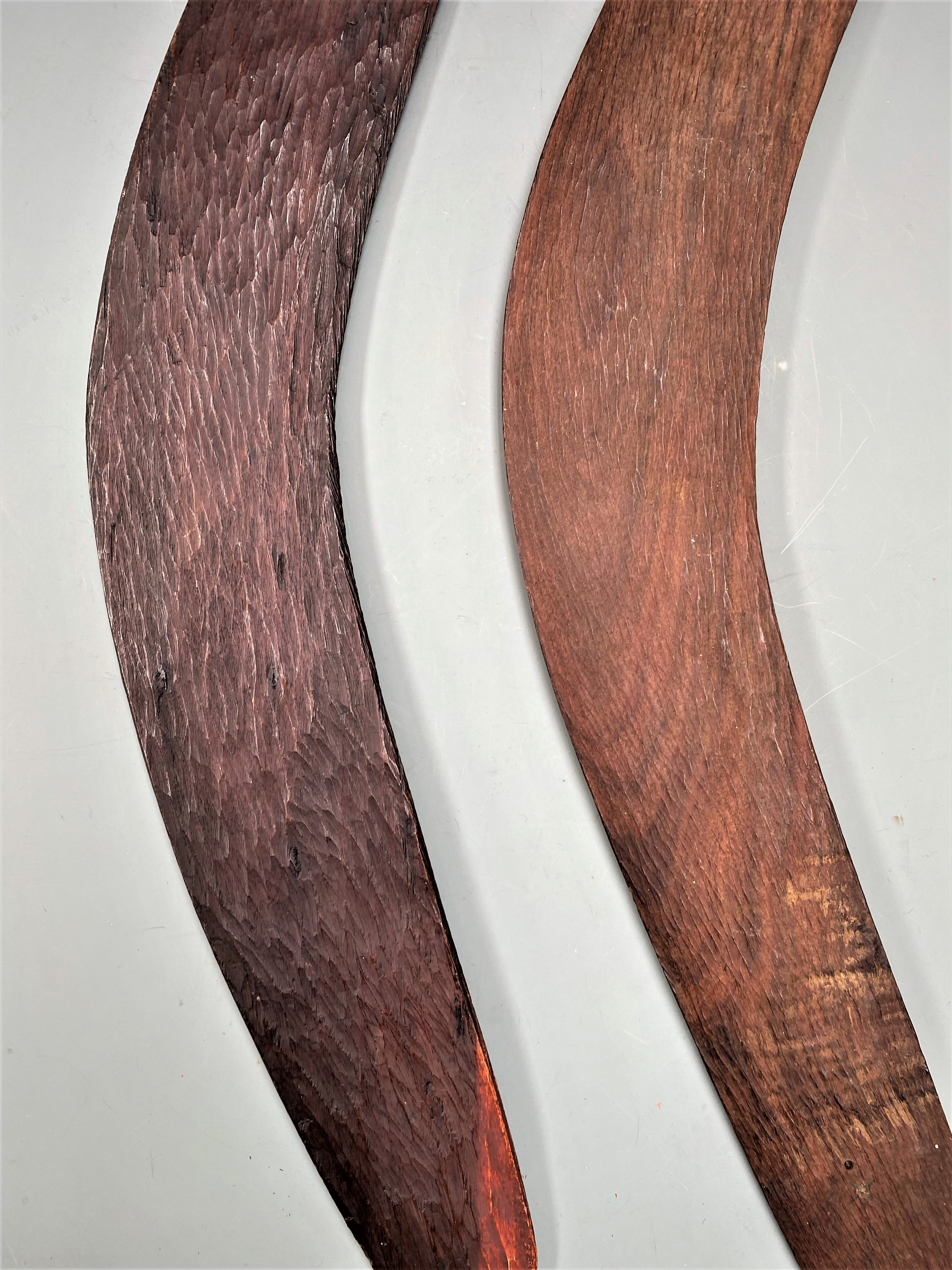 Two FineBoomerangs Aboriginal Australia