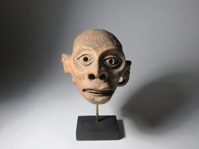 Precolumbian 'Huehueteotl' Head