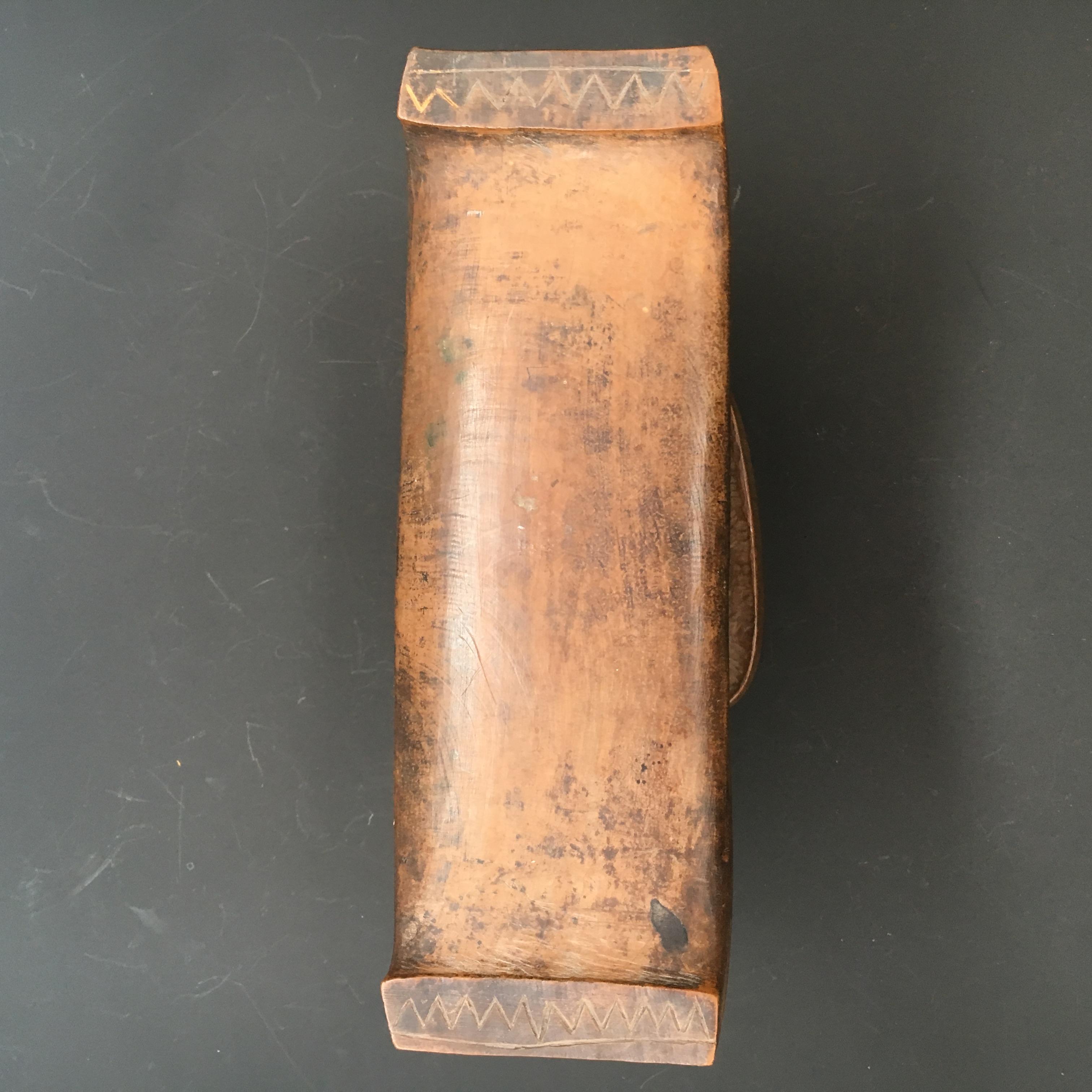 A Good Wooden Shona Headrest