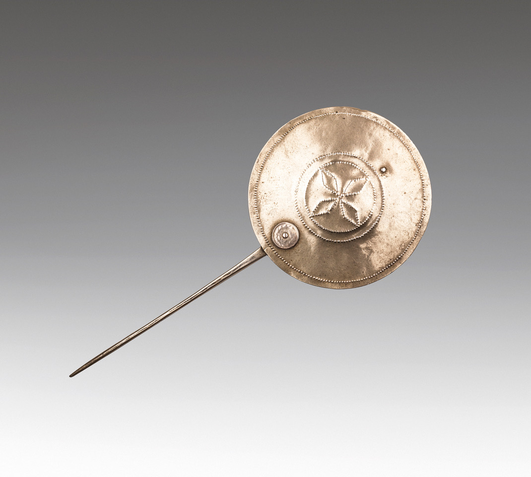 Topu, Mapuche Silver Ornament