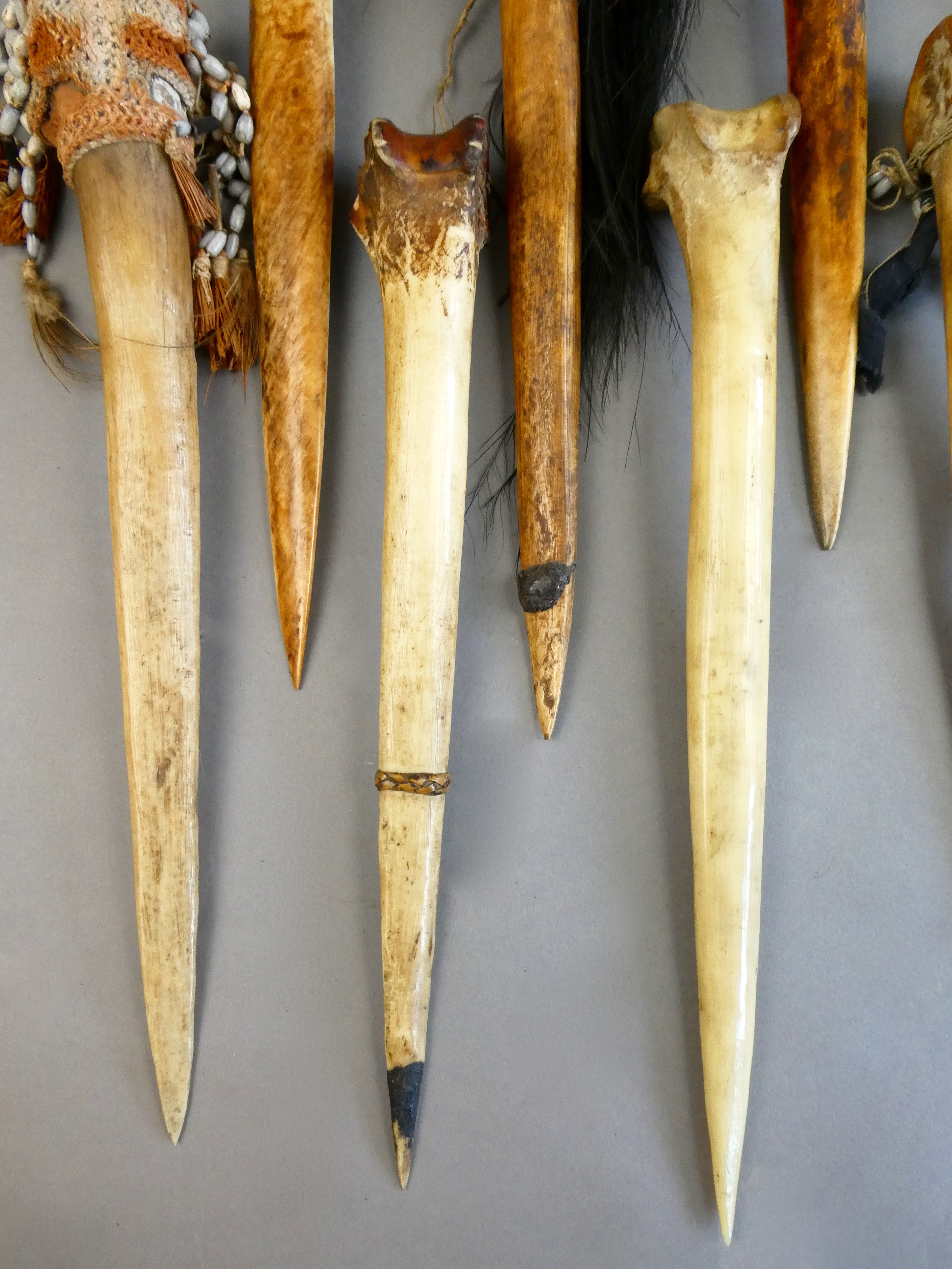Papua New Guinea Bone Daggers