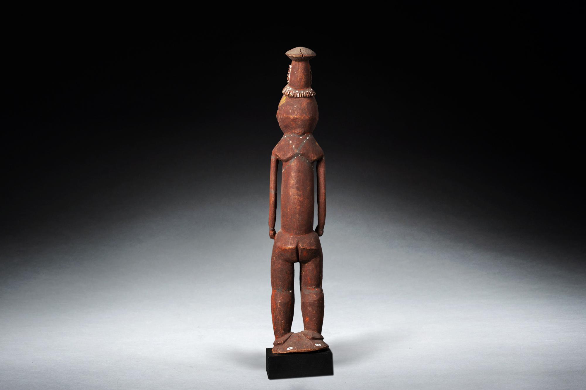 A Fine Coastal Sepik Ancestor Figure