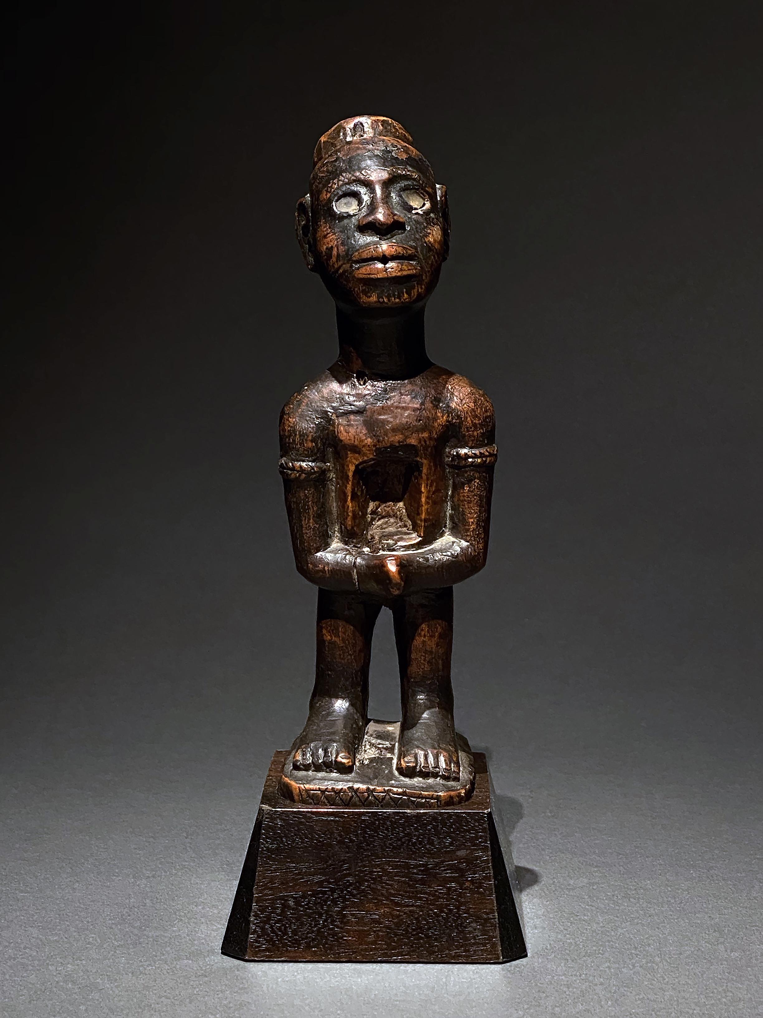 Bakongo fetish figure
