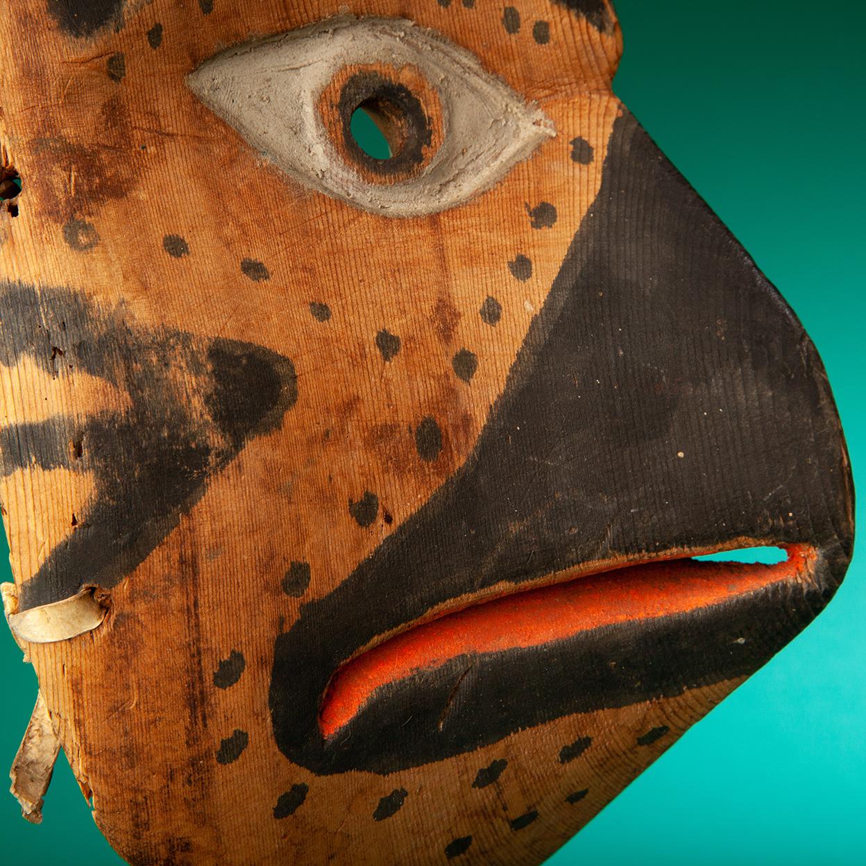 TLINGIT OWL MASK