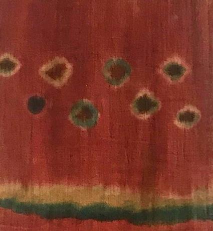 Long scarf Plangi