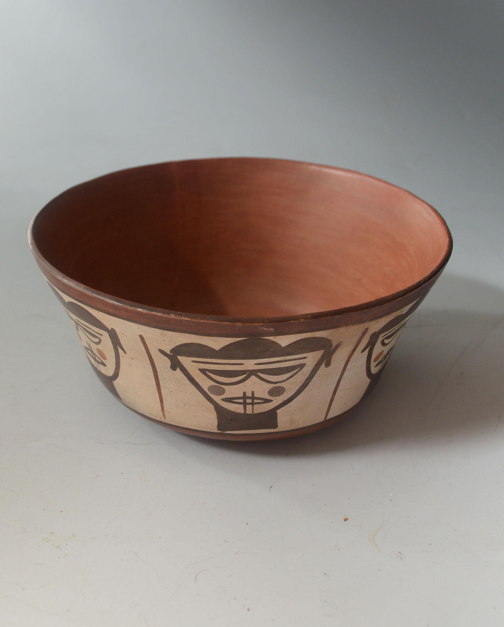 Rare Pre Columbian Nazca Bowl